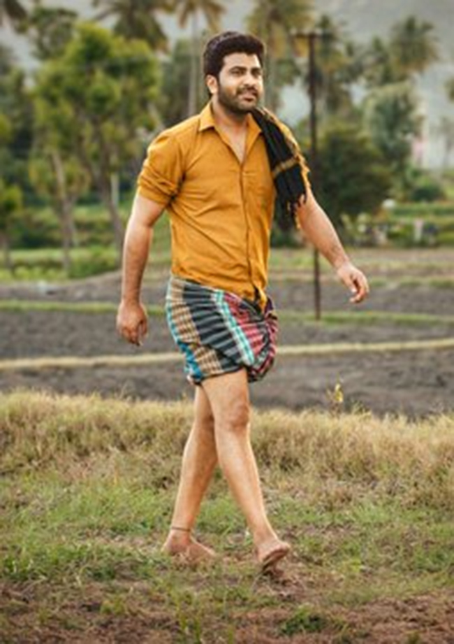 First Look: Sharwanand slips into Lungi for 'Sreekaram'