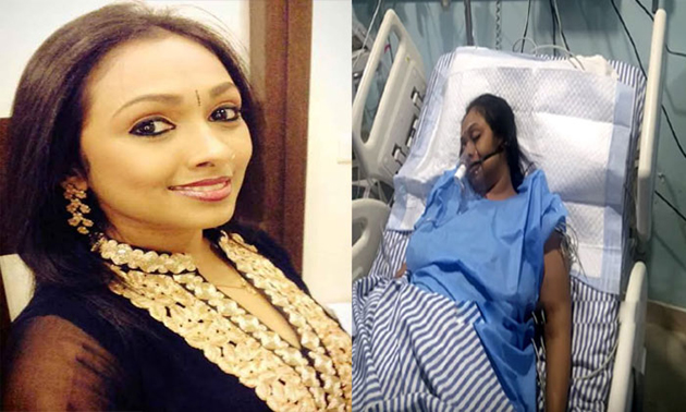 Jayashree attempts suicide admitted to hospital in critical Condition
