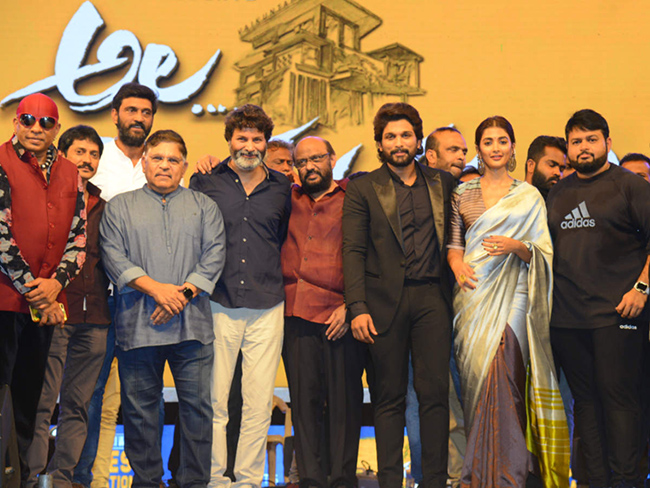 Trivikram fulfilled my wish to score a industry hit with my Father