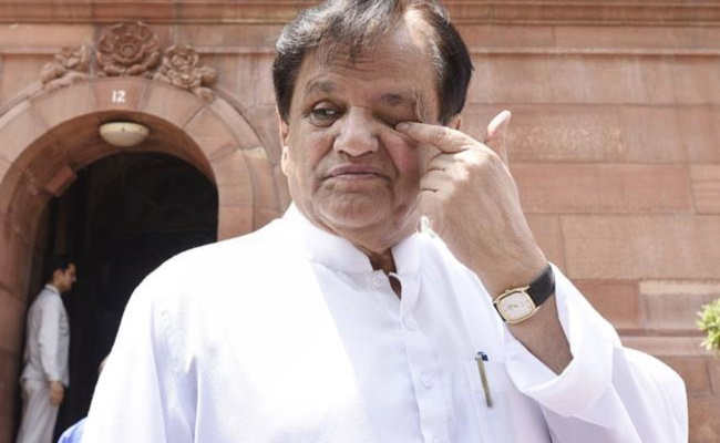 Chandrababu funds: Notices to Ahmed Patel