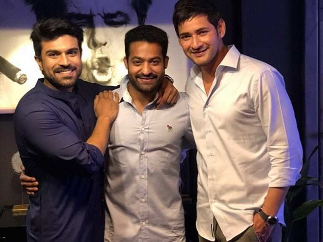 Mahesh babu Drive with Ram Charan and NTR