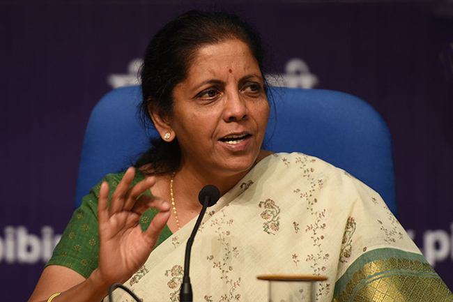 Nirmalama Sitaraman Gives Strong Counter To Kcr