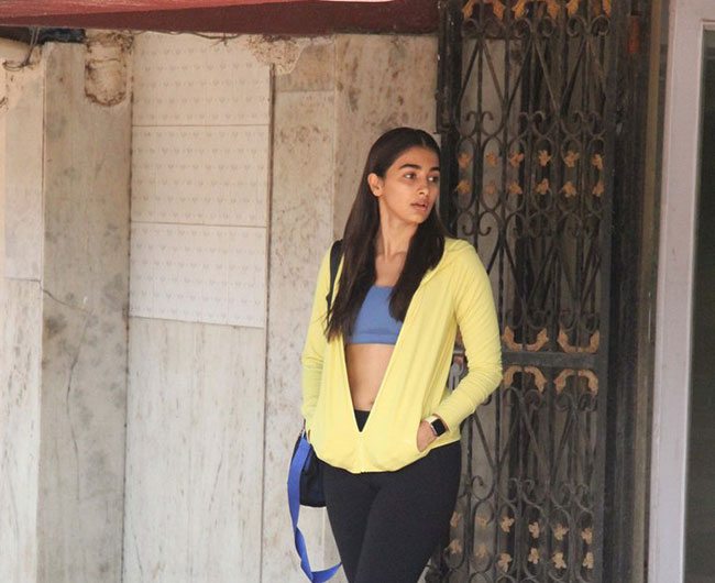 Photo Story: Pooja Hegde coming from the gym