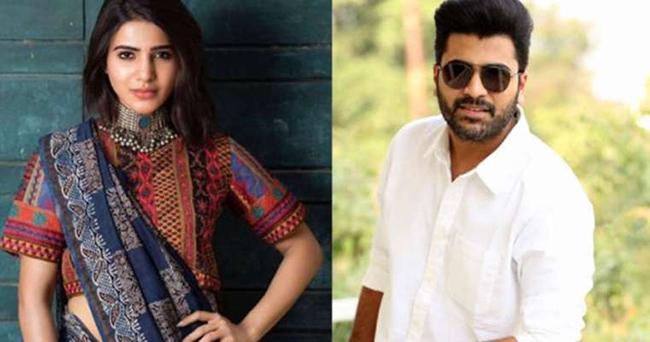 Samantha Says No To Sharwanand Movie