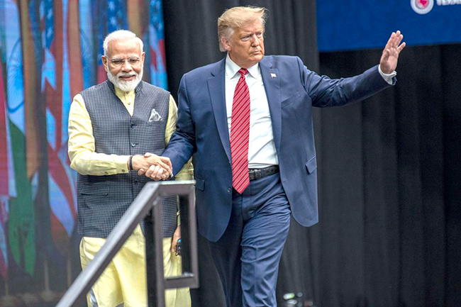 US President Donald Trump plans first India visit in February