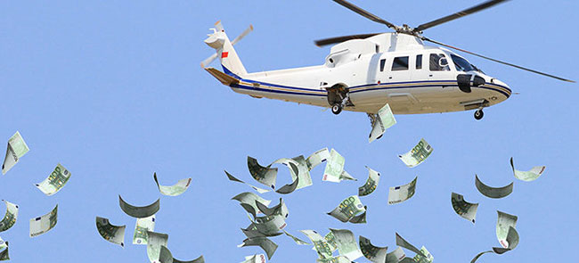 KCR Explains About Helicopter Money