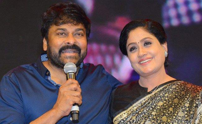 Chiranjeevi and Vijay Shanti Share Screen For Lucifer Remake