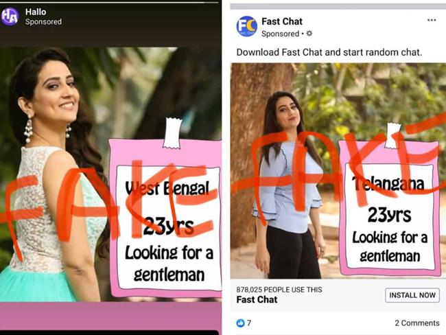Dating Apps misused anchor Manjusha Photos