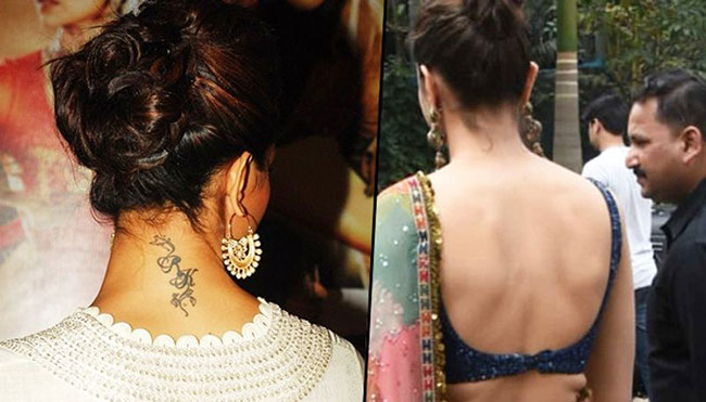 Deepika Padukone talks about Ranbir Kapoor tattoo