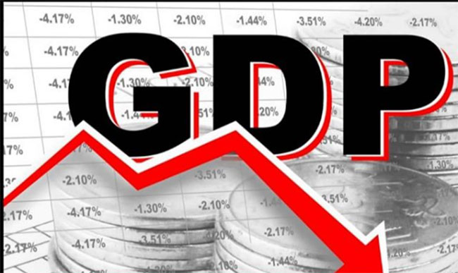 GDP growth rate at 11-year low