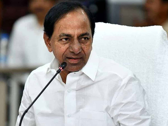 KCR says the sweet words to the farmers