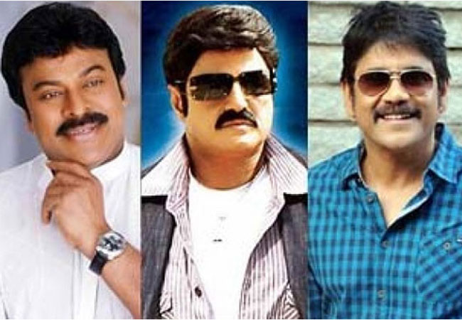 Nandamuri Balakrishna Fires On Chiranjeevi And Nagarjuna