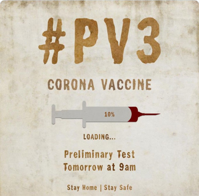 Prashanth Varma Readying Corona Vaccine!