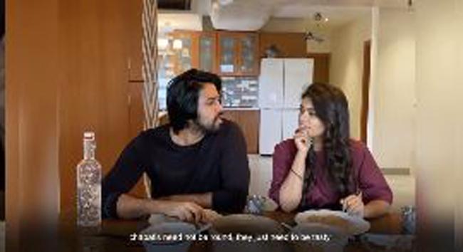Video: Sreeja Kalyan shares love with Annapurna