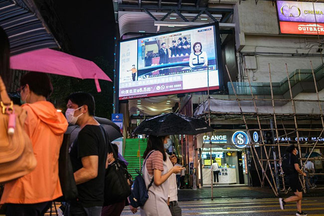 china pushes national security law after unrest hong kong