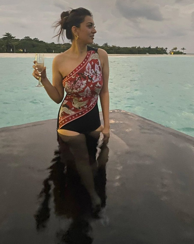 hansika In Swimsuit