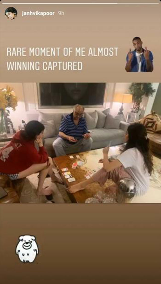 Janhvi Kapoor Shares A Glimpse Of Her Quarantine With A Candid