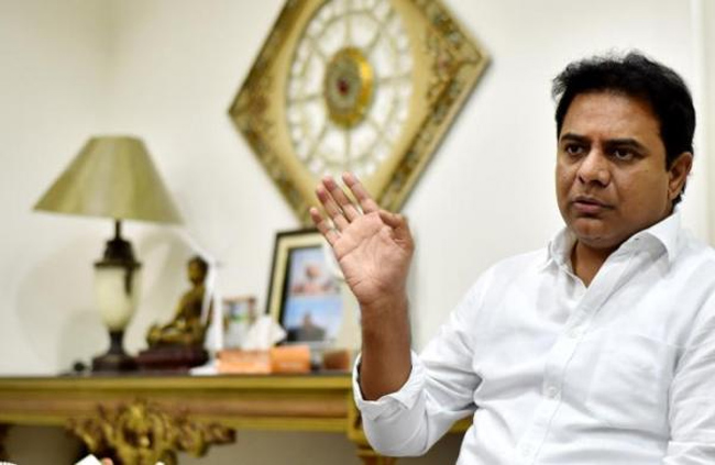 KTR Responds on about Allegations on Farm House