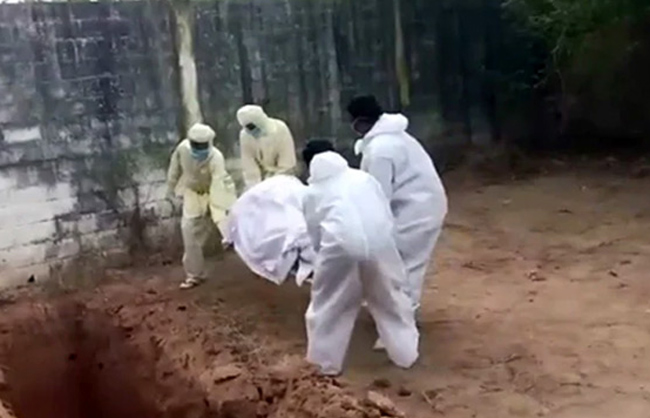 Worse: Staff negligence on the burial of an infected dead body