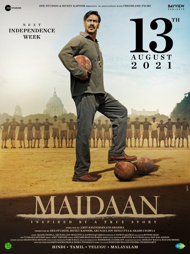Ajay Devgn Maidaan Movie Release Date