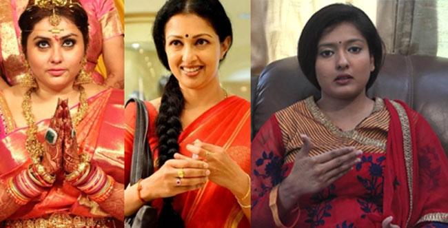 BJP Committee with Star Heroines