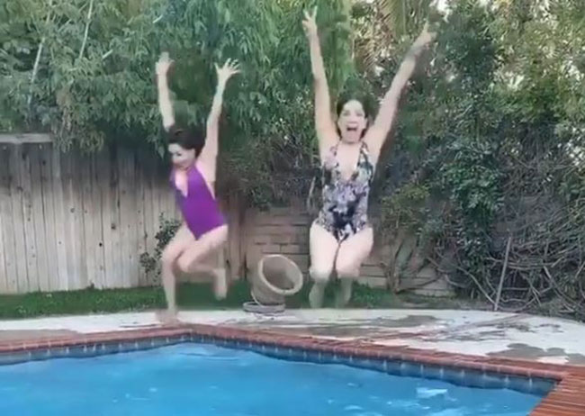 Baby Doll Swimming Video goes viral