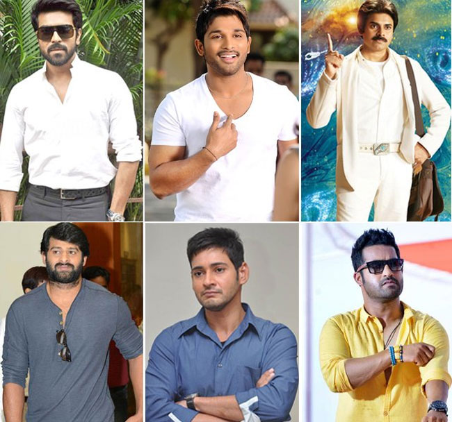 Do our heroes look like 'Pan India Stars' ...?