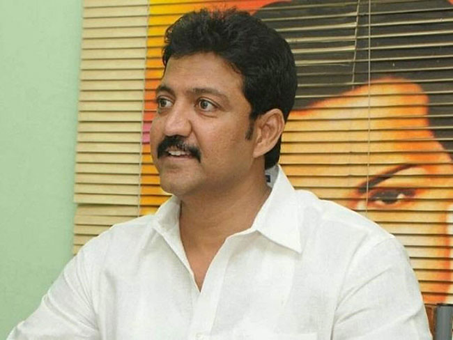 Is that why the Vallabhaneni Vamsi fell behind?