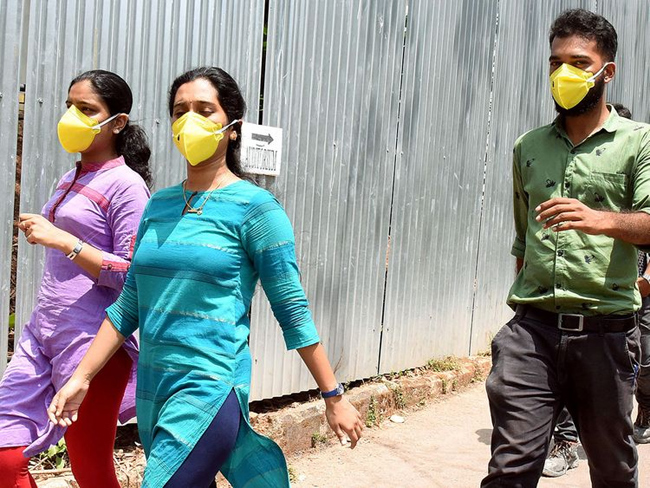Kerala Brought An Ordinance To Make Wearing Maks Compulsory