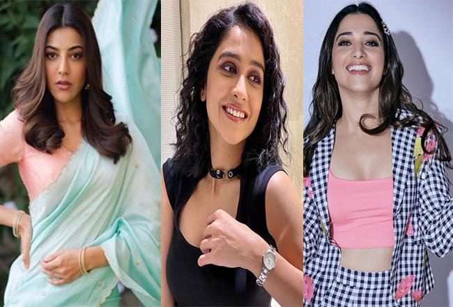 Like so many heroines in 'Acharya' ...?
