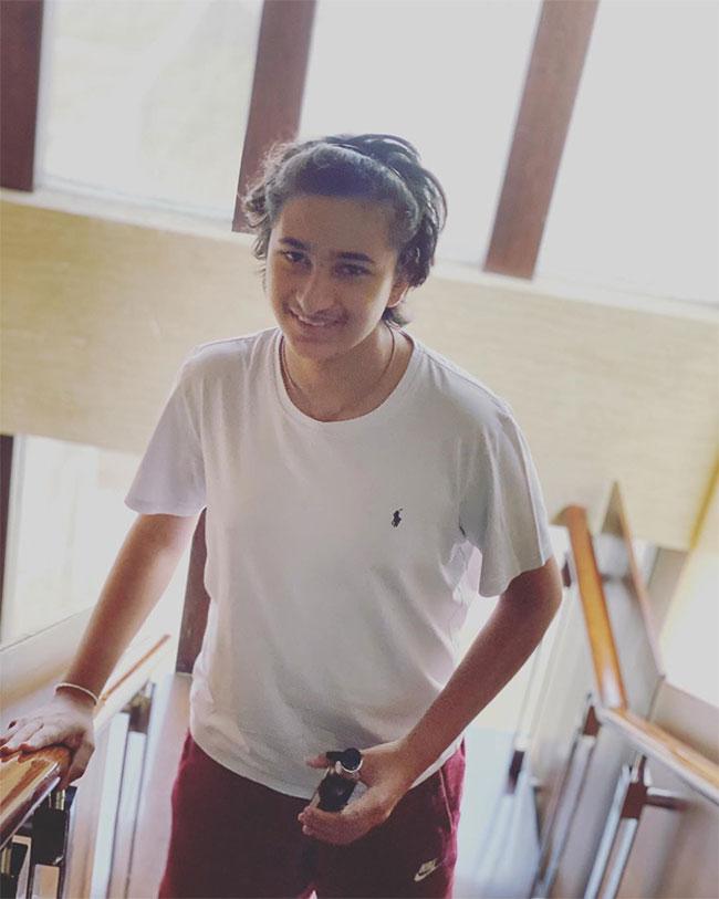 Namrata Shares Gautam Pic On Instagram
