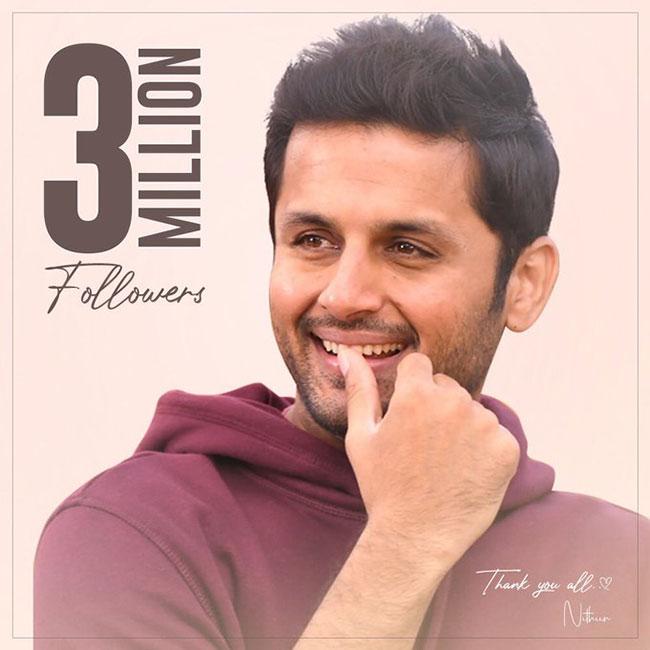 Nitin says 3 million strong ...!