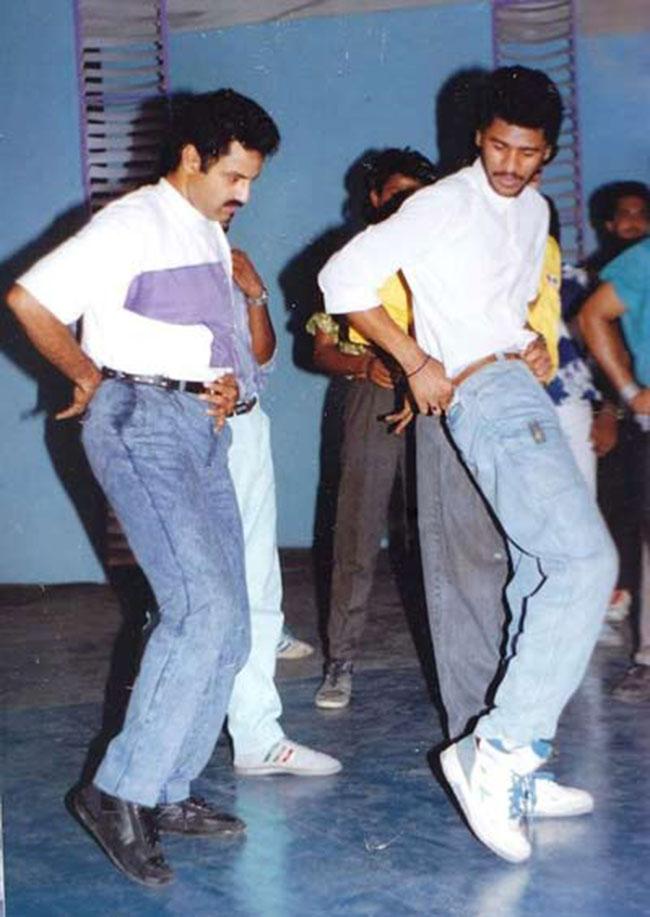 Prabhu deva choreographs Balayya