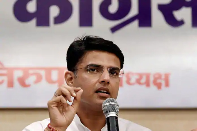 Sachin Pilot shocks Congress, talks with BJP?