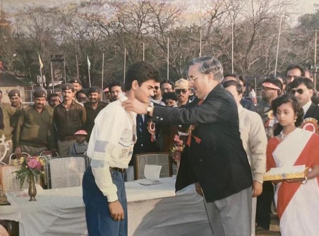Sudheer Babu Remembers His Childhood Days