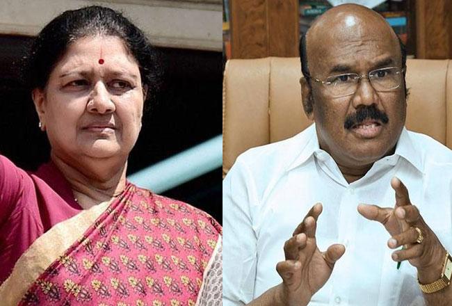 Tamil minister's sensational remarks on Sasikala's release