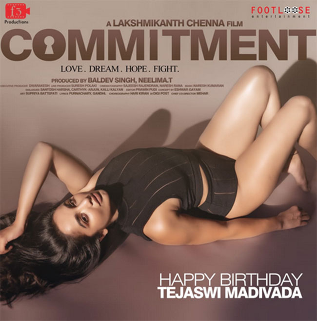 Tejaswi Madiwada Commitement First Look Released