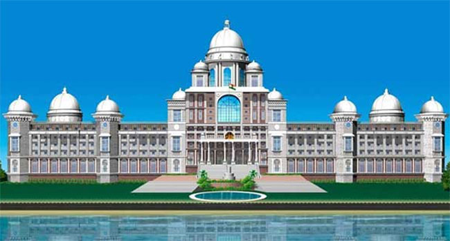 Telangana New Secretariat Building Design Plan
