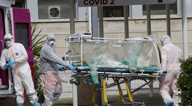 Virus victim disappears from hospital