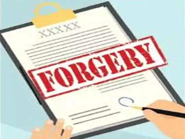 Volunteer Forgery VRO Signature