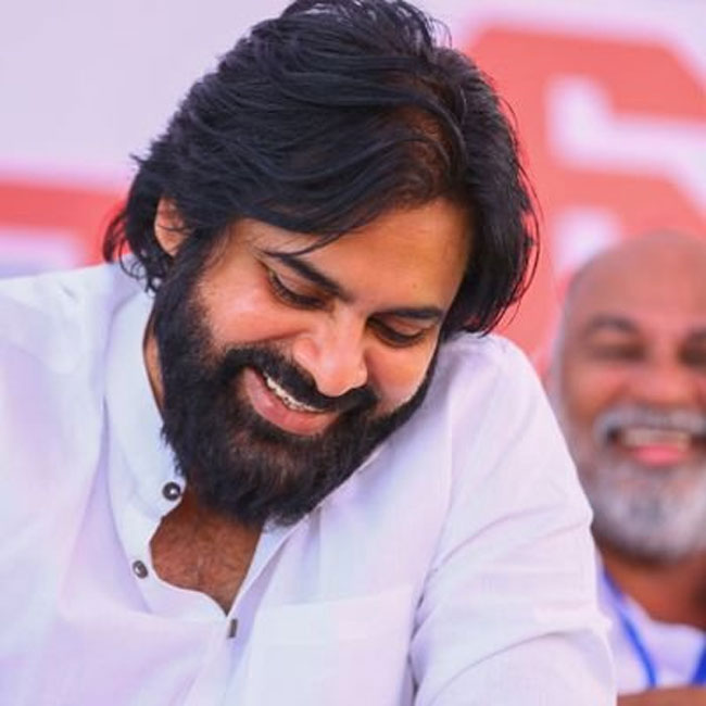 this Is Pawan's reaction to 'Power Star' stills?