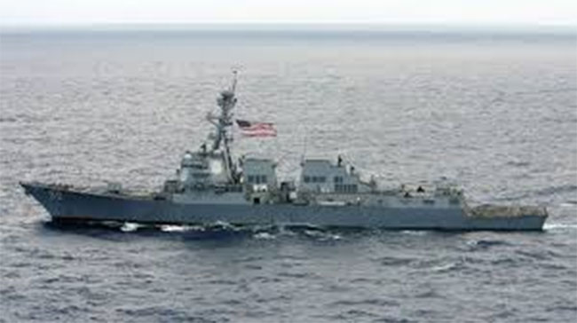 us send two aircraft carriers and several warships to south china sea