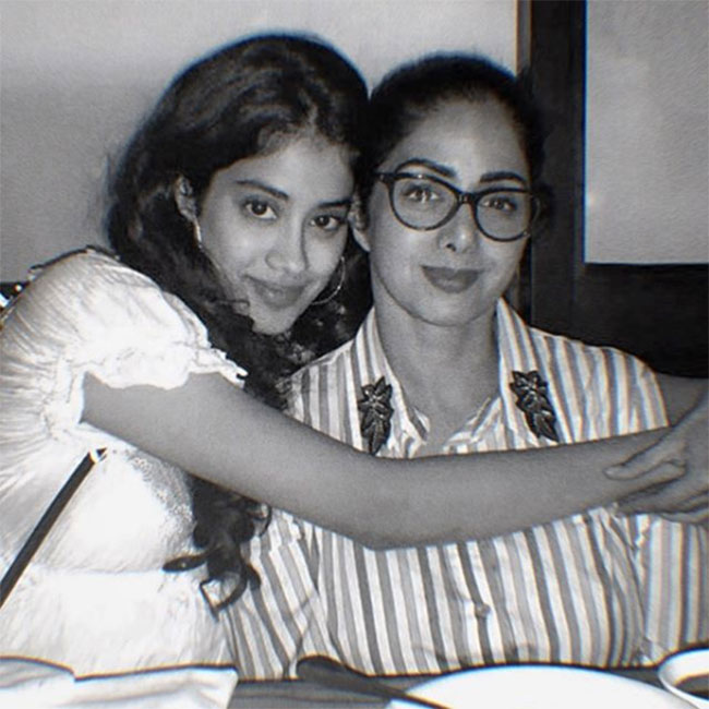 'Mother remembers in her spare time' says Janhvi