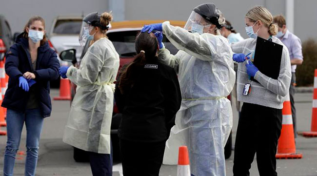 102 days later .. Pandemic again in New Zealand