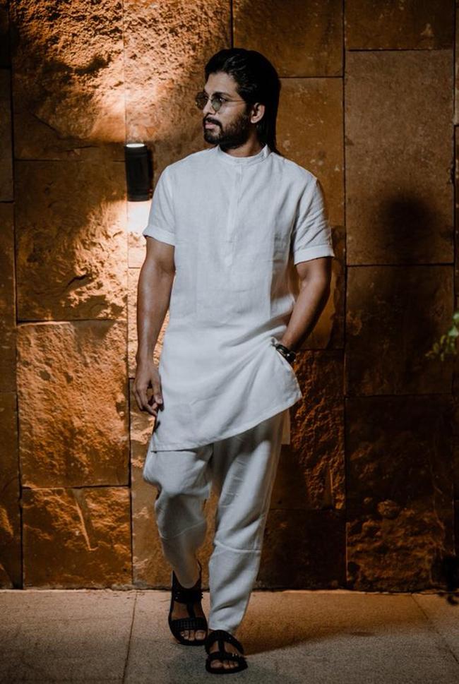 Allu Arjun Latest Look Creates Doubts on Pushpa Movie