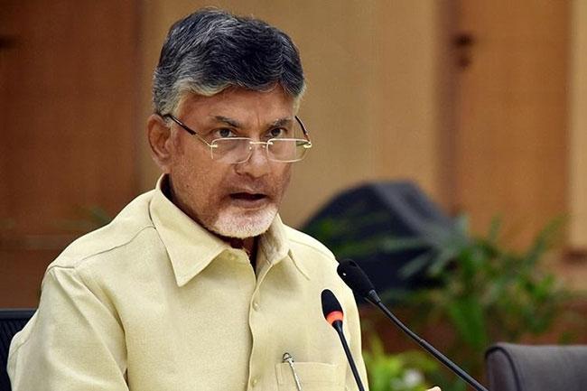 Announce Amravati .. We Will resign: Chandrababu