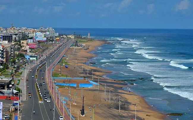 Breaking: Breaks to the administrative capital of Visakhapatnam