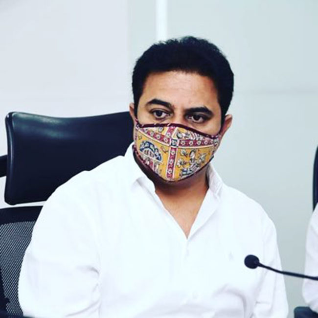 If KTR asks what the government wants in the Develop of corona vaccine?