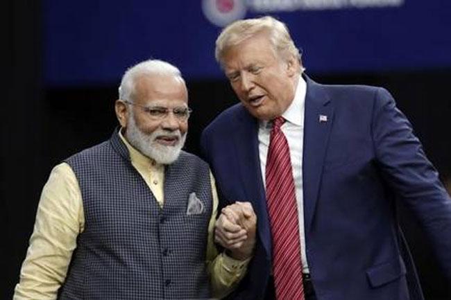 If Trump loses to Corona, will their friend Modi lose?