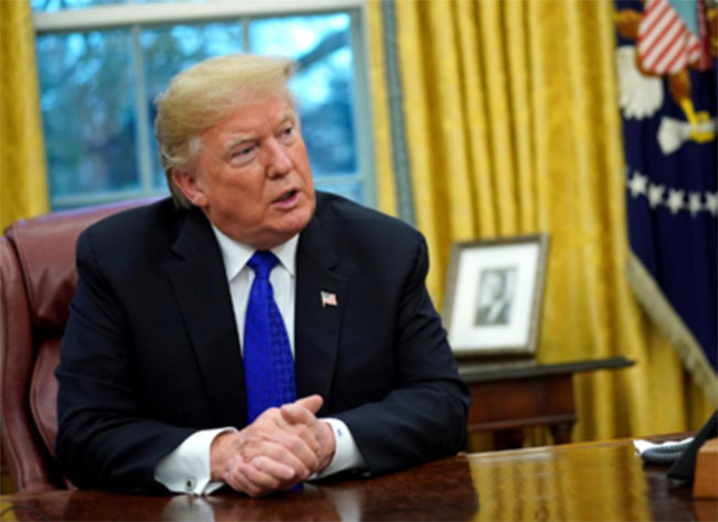 Its only possible For America not by anyone: Trump